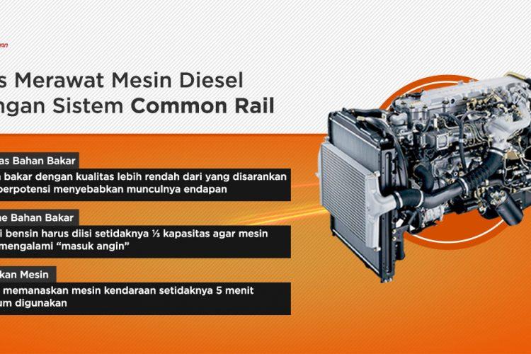 merawat common rail