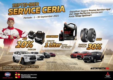 September Service Ceria